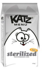 6x Katz Menu Sterilized 2 kg