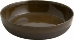 Zwarte D&M Deco OSKAR Yann bowl diameter 25,5cm - set of 2 - black / D25.5