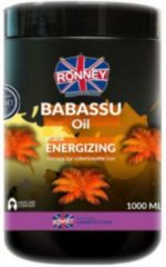 Ronney Professional Mask Babassu Oil Energizing Therapy For Color And Matte Hair 1000 ml