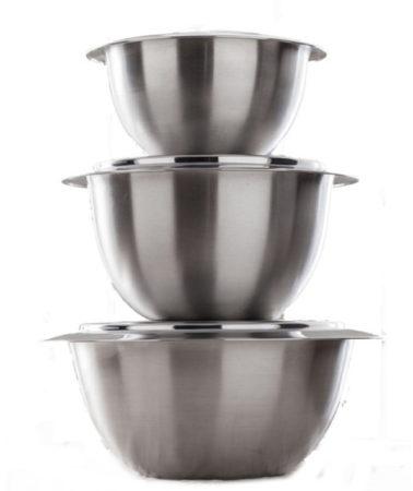 Afbeelding van Thermoserveerschaal met deksel G.S.W. zilverkleur