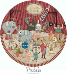 Londji Ronde Circus Puzzel - Groot 24 stukjes