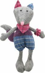 Blauwe Wilberry | Woollies | Vos + Felicitatiekaart | Lief, stoer en aparte knuffels | Kwaliteitsproduct