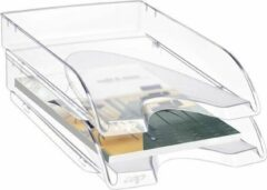 Cep Pro 200 brievenbak – Enkele Brievenbak - Polystyreen, 345 x 260 x 64 mm, Crystal