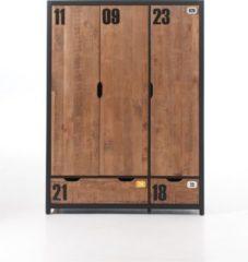 Vipack Furniture Vipack Kleiderschrank 3-trg. Alex Kiefer gebürstet