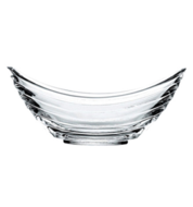 Transparante Pasabahce - Gondol serveerschaal (2x)