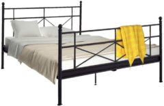 Metallbett Catherine Notio Living A/S Schwarz
