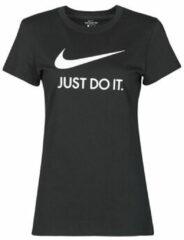 Zwarte T-shirt Korte Mouw Nike NSTEE JDI SLIM