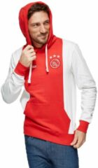 Ajax Hooded Sweater Senior - Maat S - Rood