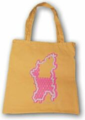 Anha'Lore Designs - Bessie - Exclusieve handgemaakte tote bag - Okergeel