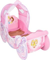 Roze Worlds Apart Disney Prinses Koets Kinderbed met Licht 70 x 140 cm