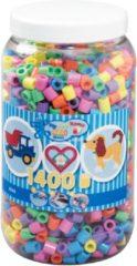 Hama beads Hama - Maxi Strijkkralen in pot - Mix pastelkleuren - 1400 stuks