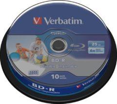 Zwarte Verbatim Datalife 6x BD-R 25 GB 10 stuk(s)