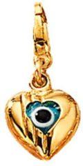 Goudkleurige Bedel Magisch oog KLiNGEL goudkleur