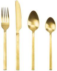 Excellent Houseware Gezellig tafelen- Luxe Bestekset 24- delig - Goud