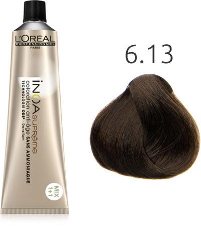 Afbeelding van L'Oreal Professionnel L'Oréal - INOA Suprême - 6.13 Cipres Schors - 60 gr