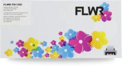 FLWR - Toner / TN-135 / Cyaan - geschikt voor Brother
