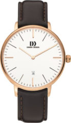Roze Danish Design watches edelstalen herenhorloge Koltur Rose Gold Large IQ17Q1175