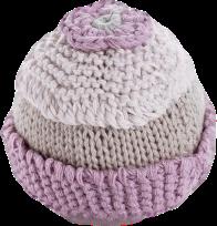 Pebble Rammelaar – Cupcake roze
