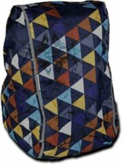 Dripdropbag Regenhoes Party Voor Rugzak 50 X 40 X 20 Cm Blauw