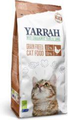 4x Yarrah Bio Kattenvoer Graanvrij Kip - Vis 2,4 kg