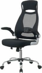 Milo Labels Milo Mesh Bureaustoel - Ergonomisch gevormd - Inklapbare Armleuningen - Verstelbaar - Bureaustoelen - Zwart