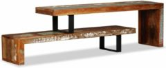VidaXL Tv-meubel massief gerecycled hout