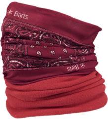 Barts Multicol Polar Sjaal - Unisex - rood/wit