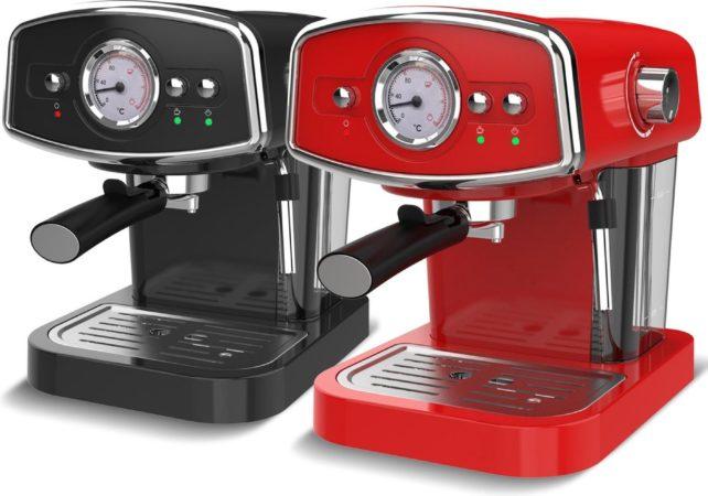 Afbeelding van TurboTronic CM22 Espresso Machine Pistonmachine 19 Bar pomp - Zwart