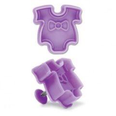 Roze Städter Plastic plunger cutter - baby rompertje - St�dter