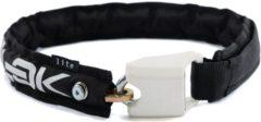 Hiplok - Lite Wearable 6mm Chain Lock - Fietsslot maat 75 cm zwart/wit