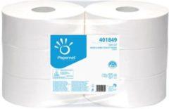 Zwarte Euro Products Papernet toiletpapier Special Maxi Jumbo 2-laags 1180 vellen pak van 6 rollen