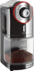 Zilveren Melitta Molino elektrische koffiemolen