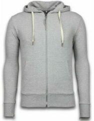 Bread & Buttons Casual Vest - Sweater Heren Side Zippers - Grijs Vesten Heren Sweater Maat XL