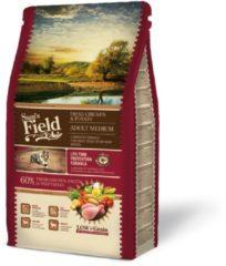Sam's Field Adult Medium Kip&Aardappel - Hondenvoer - 2.5 kg - Hondenvoer