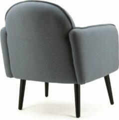 Fauteuil Sophia, Eleonora fauteuil, Blauwe Fauteuil, Fauteuil stof iceblue, Sophia lichtblauw
