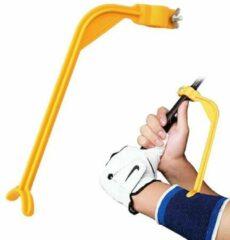 Oranje Merkloos / Sans marque Golf swing - Swingtrainer - Trainingsmiddel voor de perfecte slag bij golf - Golf accessoires