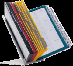 Bruna Bureaustandaard Durable 5510 Vario met 30-tassen A4 assorti