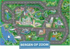 Speelkleed Bergen op Zoom City-Play - Autokleed - Verkeerskleed - Speelmat Bergen op Zoom