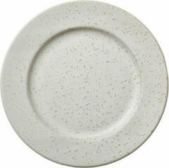 Creme witte Diner bord Bitz Dia. 27 cm Matte cream