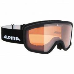 Alpina - Scarabeo S Quattroflex Hicon S2 - Skibril zwart/grijs/beige
