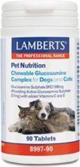 Lamberts Glucosamine kauwtabletten voor hond en kat 90 Tabletten