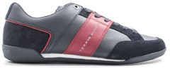 TOMMY HILFIGER Sneakers trendy uomo blu/rosso
