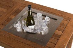 Grijze Merkloos / Sans marque Happy Cocooning Losse Inbouw Wijnkoeler - Vierkant