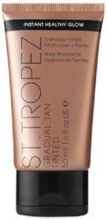 St. Tropez - Feuchtigkeitscreme und Grundierung für die graduelle Bräunung, 50 ml - Transparent