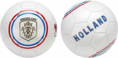 Avento Voetbal Glossy - Euro Triumph - Wit/Oranje/Blauw/Rood - 5