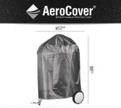 Antraciet-grijze AeroCover Kettle barbeque cover ø47cm Cover