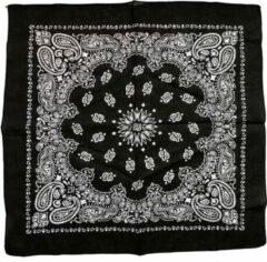Creotime Bandana, afm 55x55 cm, zwart, 1stuk
