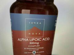Terranova Alpha lipoic acid 300 mg complex Inhoud: 100 capsules