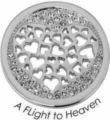 Quoins Disk Fligt to Heaven staal zilverkleurig Medium QMOA-41M-Z