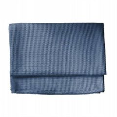 Heckett & Lane Wafel Bedsprei - Deken - Plaid Hecket & Lane - steel bleu (Blauw, 240x260)